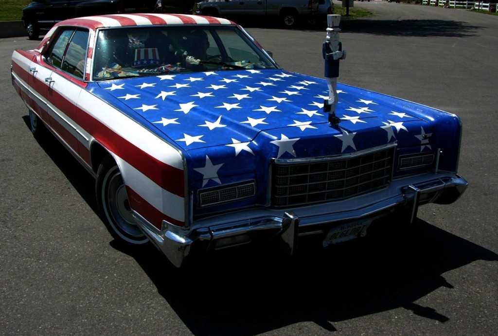 uncle sam car modified cropped